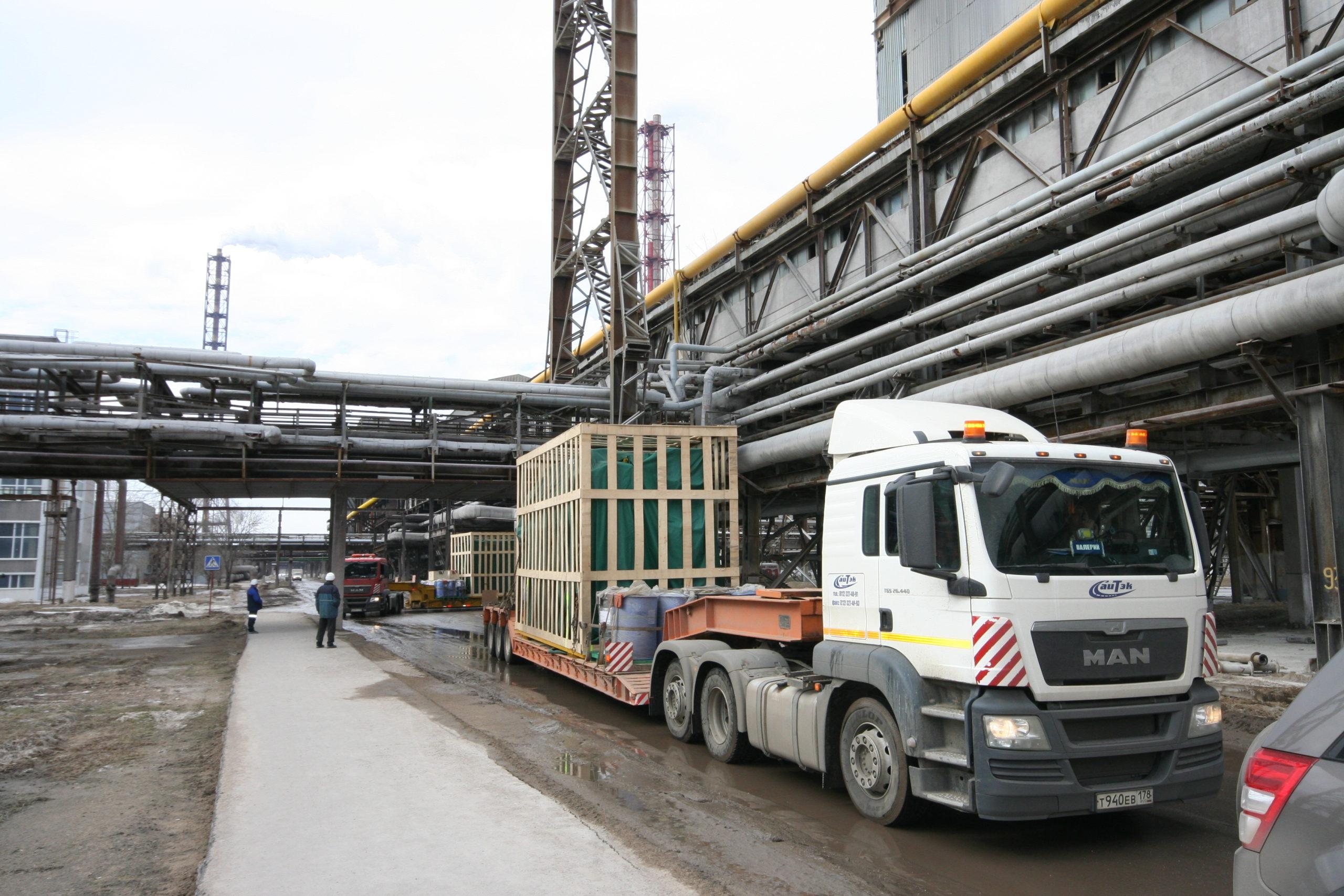 АБХМ Thermax для складского комплекса в Санкт-Петербурге