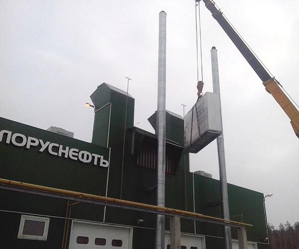 Внедрение воздухоохладителей на КГУ «Давыдовка», Белоруснефть