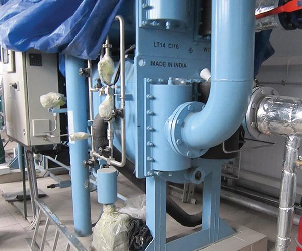 Охлаждение воздуха для ГПУ и ГТУ