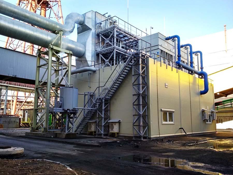 Внедрение эффективной системы охлаждения гранул минеральных удобрений