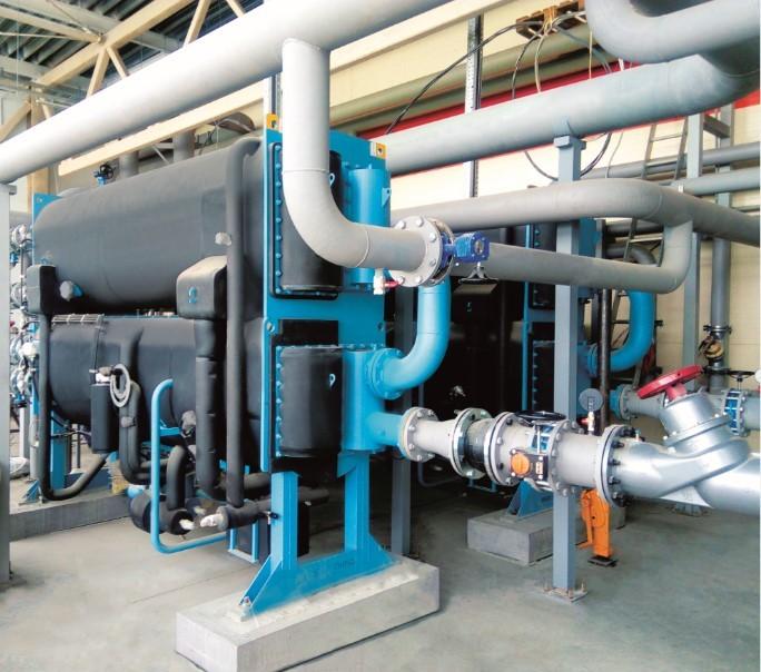 Система охлаждения  для тепличного комплекса